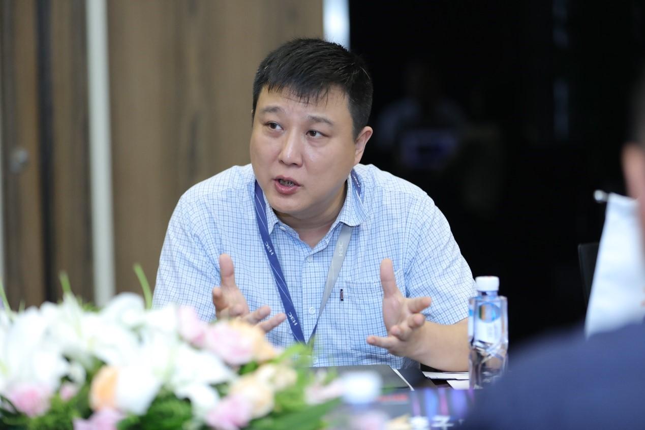 新华三集团副总裁 李子威