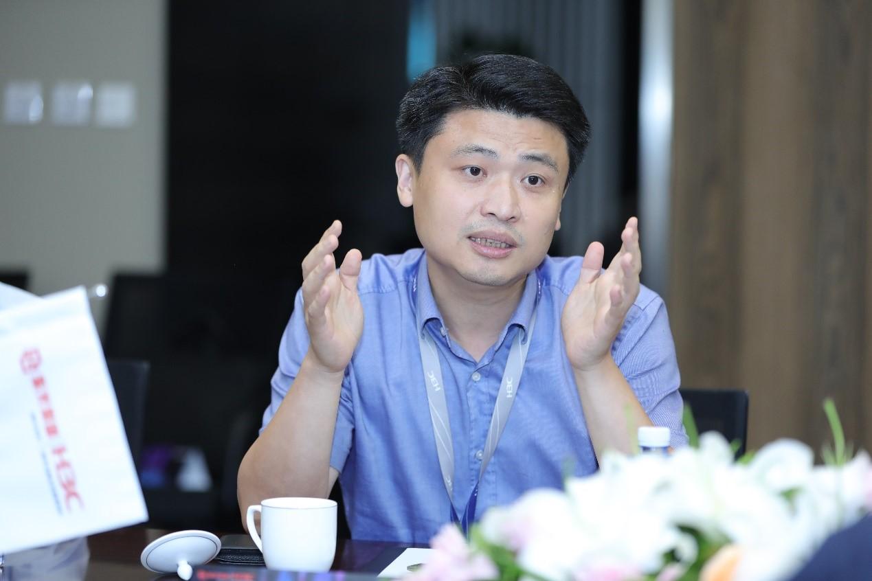 新华三集团教育系统部总经理刘丰